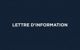 Lettre d'information : Réforme constitutionnelle